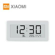 Термометр XIAOMI MIJIA Pro, электронный комнатный термометр, умный Bluetooth гигрометр, цифровые часы, датчик влажности, приложение Mihome