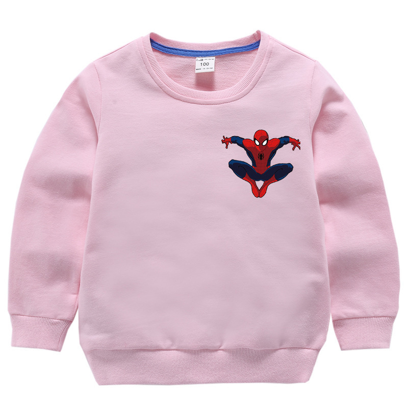 Spiderman Sweatshirt Hoodies Jacket Pullover Marvel Avengers Superhero Winter Boys Cartoon