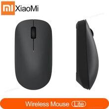 Xiaomi kablosuz fare Lite 2.4GHz 1000DPI ergonomik optik taşınabilir bilgisayar fare taşıması kolay oyun fareler