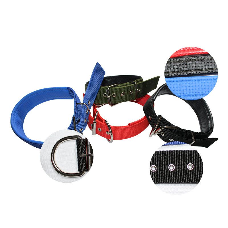 Pet Supplies Wholesale Pet Items Collar Pet Dog Foam Bandana Galvanized Parts Pet Traction Dog Collar