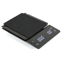 3kg 0.1g Coffee Drip Scale Digital Scale Mini Digital LED Display Timer Kitchen Jewelry Scale Household Drip Scale Timer(China)