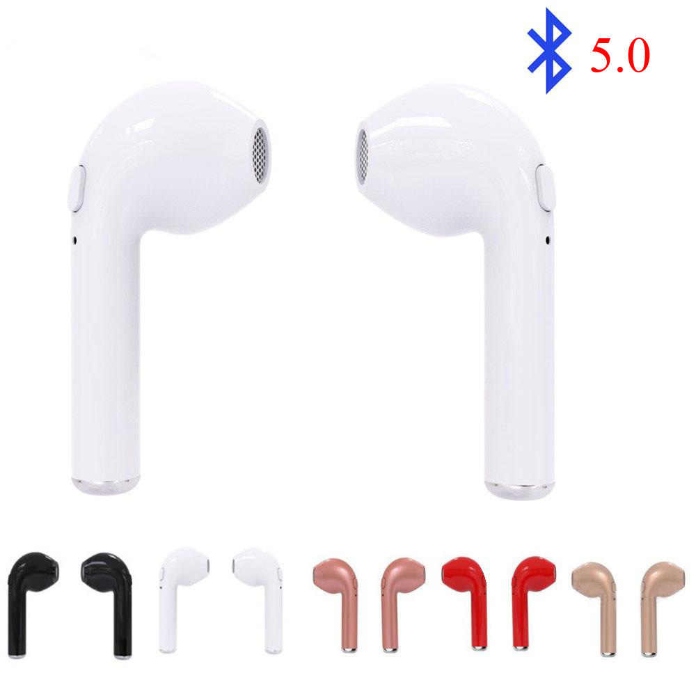 I7s Tws несколько цветов беспроводные Bluetooth наушники гарнитура стерео наушники с микрофоном для всех смартфонов Bluetooth