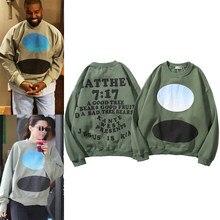 Jerseys Vintage Stranger Things para hombre, ropa urbana, sudaderas con estampado de Hip Hop, Kanye Weat