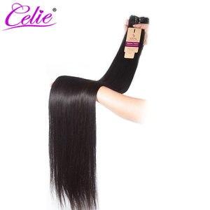 Image 4 - סלי ישר שיער חבילות רמי שיער טבעי הארכת 28 30 32 34 36 38 40 אינץ חבילות ישר ברזילאי שיער Weave חבילות