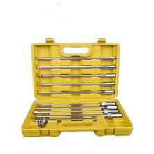 T-type Socket Wrenches 11-piece Strong Durable Chromium Vanadium Steel Metric Socket Wrenches Combination
