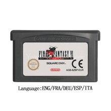 任天堂gbaビデオゲームカートリッジコンソールカードファイナルファンタジーviアドバンスeuバージョン