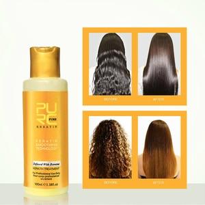 Hair Treatment Banana Flavor Keratin Treatment Straightening Hair Repair Damage Frizzy Hair Brazilian keratin Treatment TSLM2