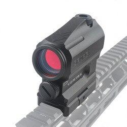 Tactical sparc red dot sight para airsoft dupla função óptica rifle magnificate scope caber 20mm montagem em trilho riflescope vistas