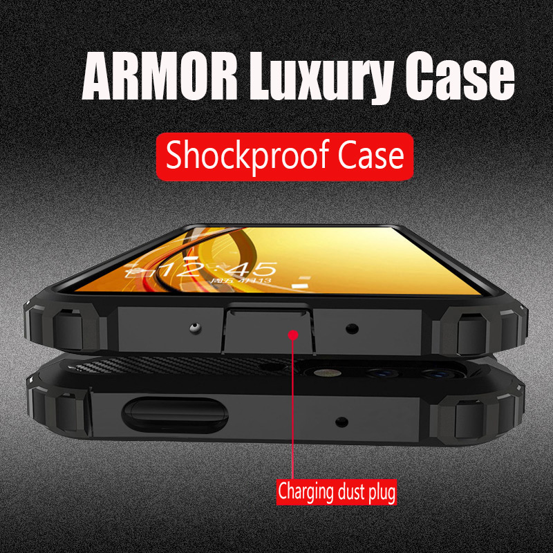 Luxury Armor Shockproof <font><b>Bumper</b></font> <font><b>Case</b></font> On The For <font><b>Oneplus</b></font> 7T Pro 7 <font><b>6T</b></font> Silicone Coque Cover For <font><b>Oneplus</b></font> 7 <font><b>6T</b></font> 7T Soft Phone Capa <font><b>Case</b></font> image