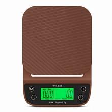 Balance numérique électronique pour café 3kg, 0.1g, avec minuterie, LCD, pour la cuisine