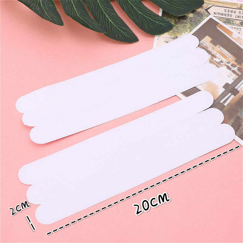 Banyo Anti kayma banyo paspas 20x2cm kavrama çıkartmalar kaymaz duş şeritleri döşeme emniyet bandı Mat Pad PVC Anti kayma banyo paspas