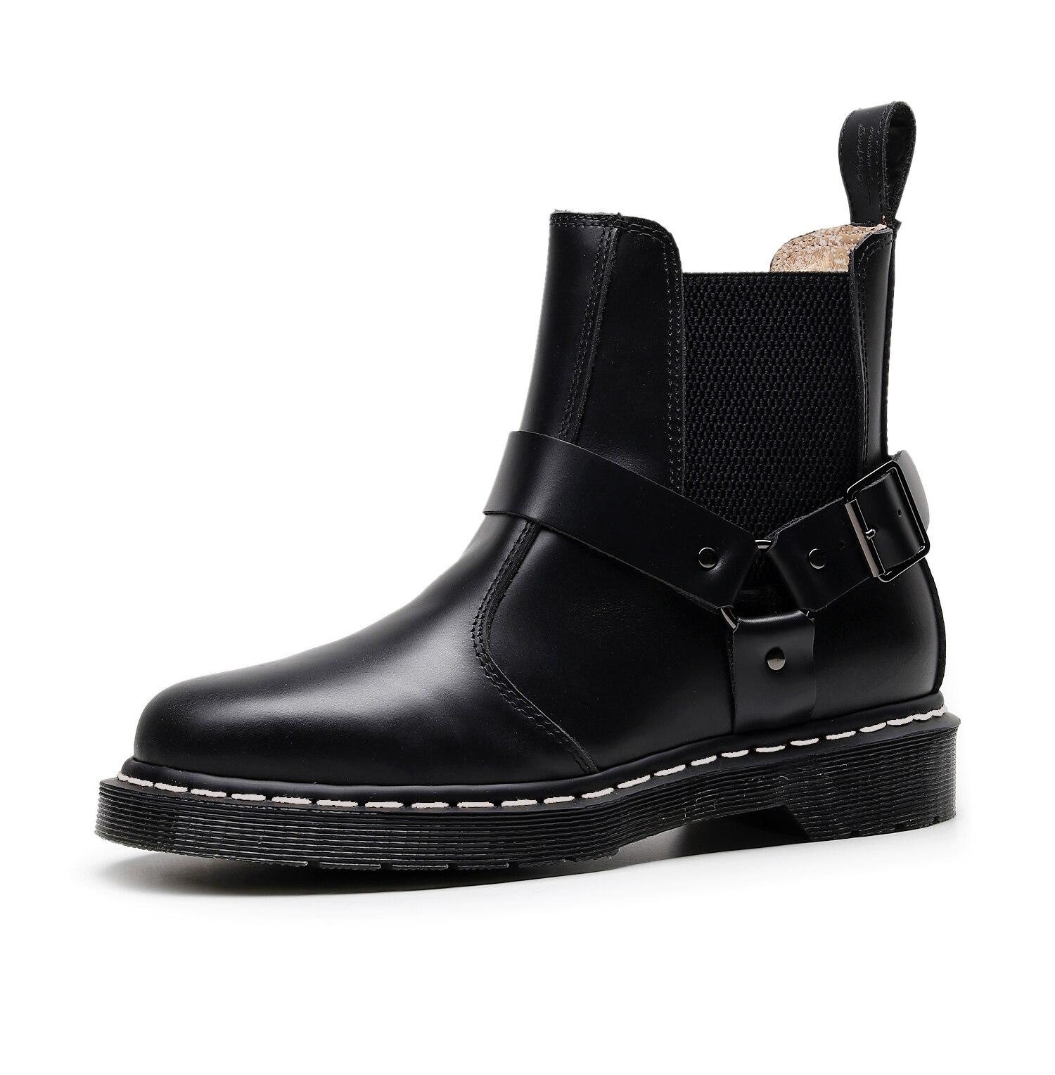 Vastwave Lover Coupler British Vintage Martens Unisex Doc Women Leather Boots Martin Shoes Woman Ankle Boots Luxury Winter Boots