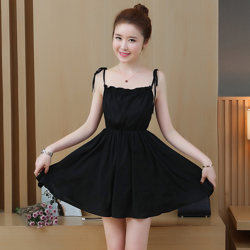 New sexy backless black woman elegant summer slip dress 2020 plus size mini Sleeveless party ladies dresses womens clothing