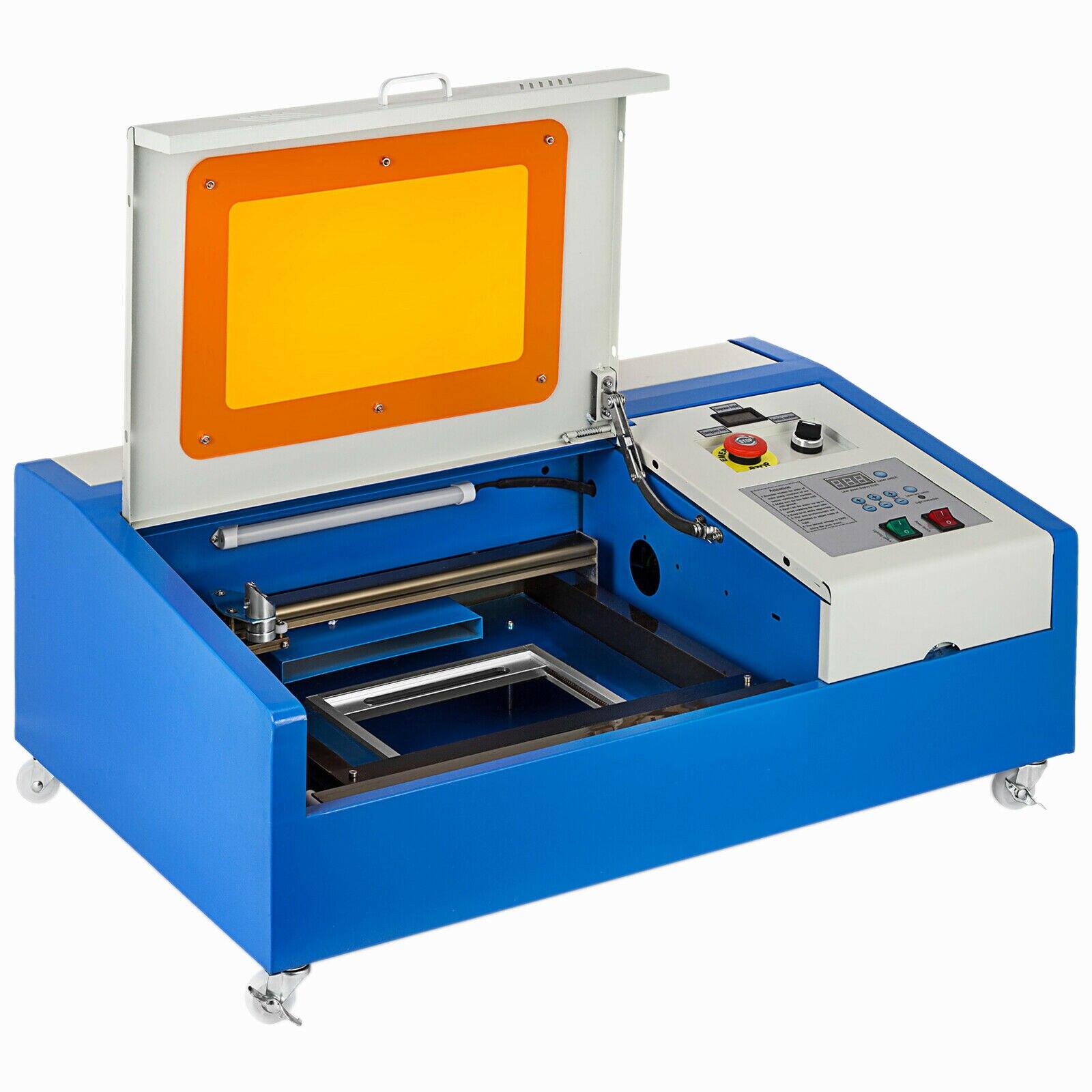 Verbesserte 40W CO2 Laser Stecher Schneiden Maschine Handwerk Cutter USB