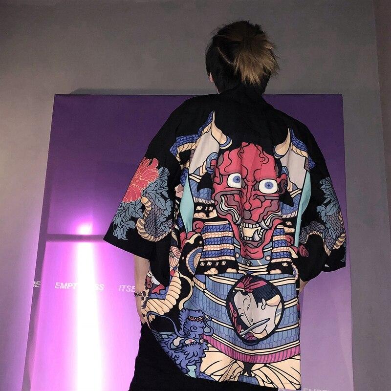 Kimono para hombre Kimono japonés tradicional kimono para hombre cárdigan harajuku streetwear disfraz de samurai yukata masculino haori obi KK001 Figura de anime original japonesa FGO/Gran Orden figura de acción Astolfo juguetes coleccionables para niños