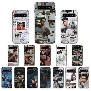 Babaite One Direction Zayn Malik Phone Case for Samsung Galaxy S6 S6edge Plus S7 S7edge S8 S9 S10 Plus S20 image