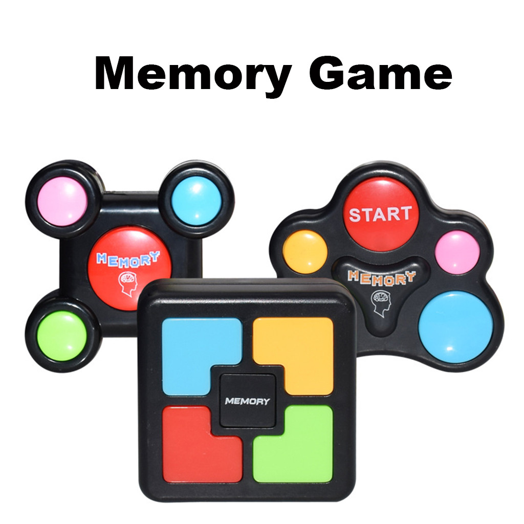 2019 Puzzle Toys Creativity Educational Memory Game With Lights And Sounds Toy Quiz Game Kids Toys&gift For Children