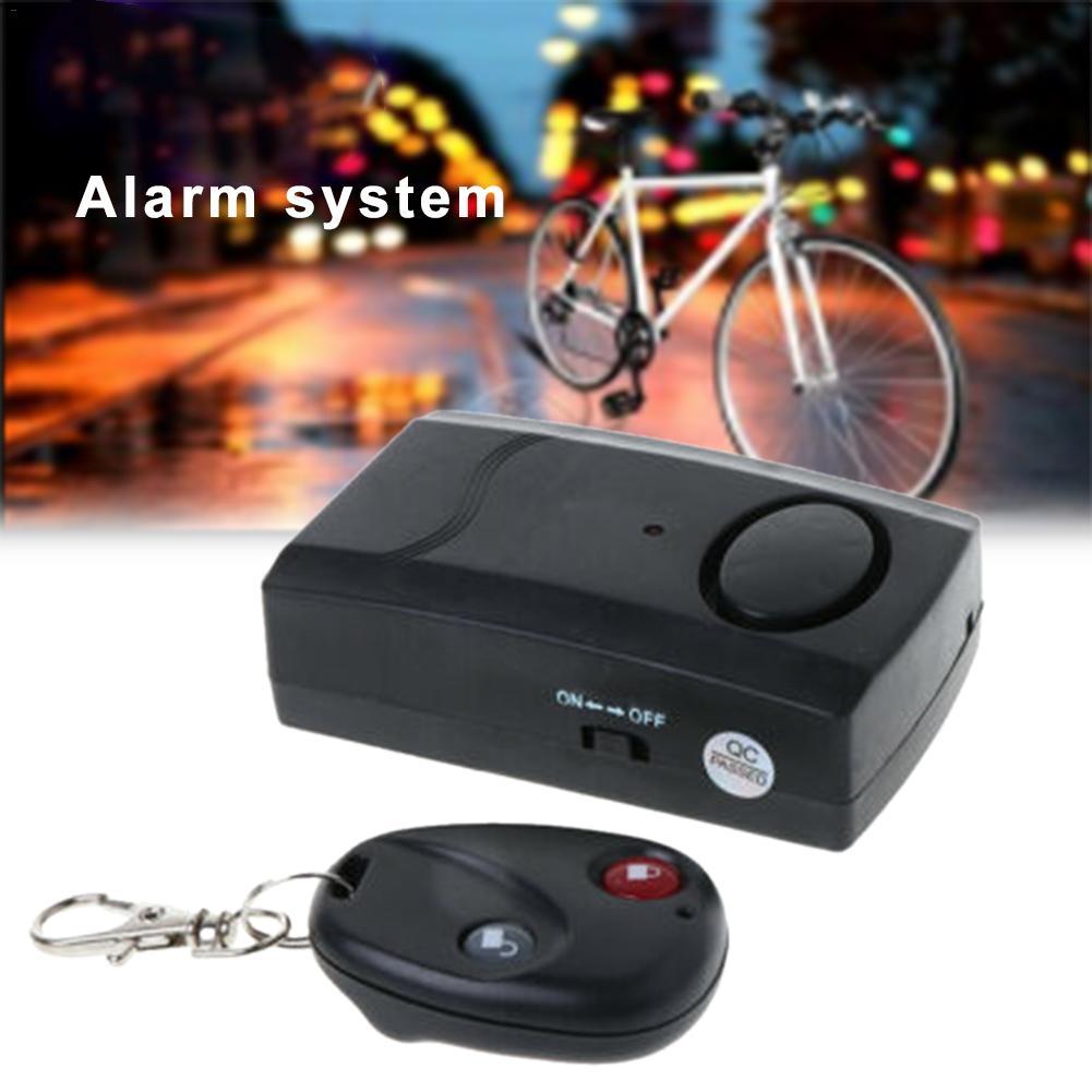 Wireless Remote Control Vibration Security Alarm Door Window Car Bike Anti-thief Device