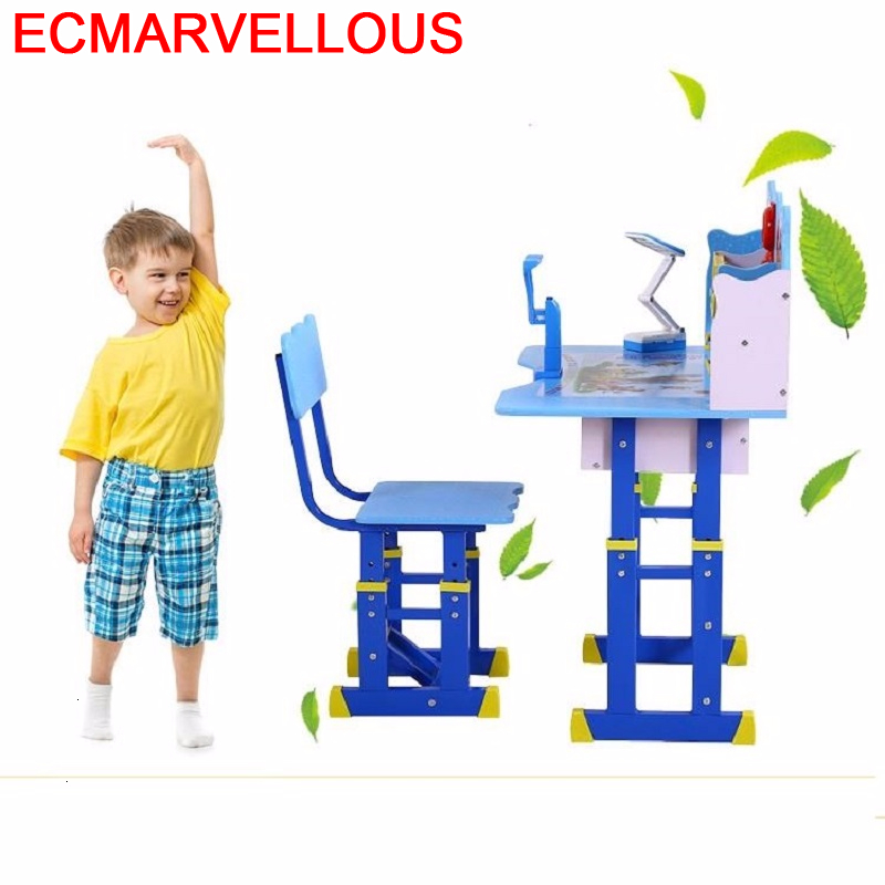 Toddler Escritorio Kindertisch Pupitre Infantil Scrivania Tavolo Bambini Adjustable Bureau Enfant Kinder For Kids Study Table