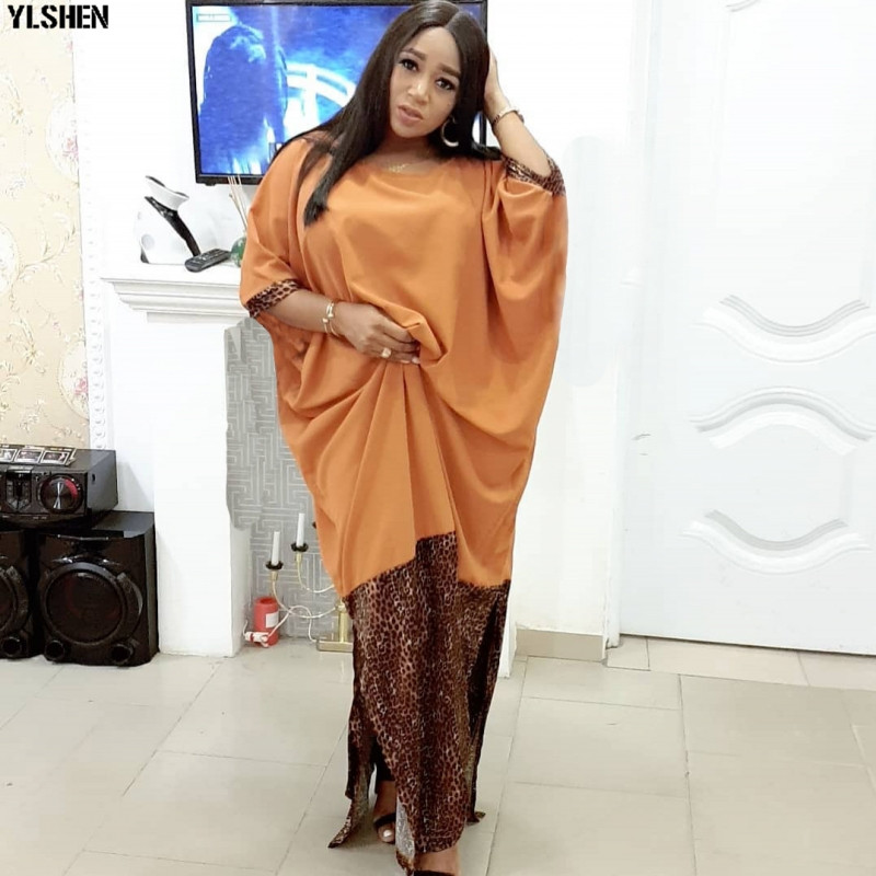 African Dresses For Women Dashiki Traditional African Dress Africa Clothing Summer Plus Size Boubou Robe Africaine Clothes 2019