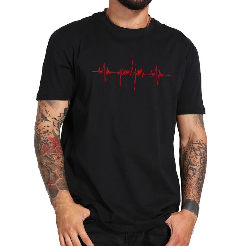 Gigaton T Shirt Rock Band New Album Tshirt High Quality 100% Cotton Soft Basic Tee Shirt EU Size