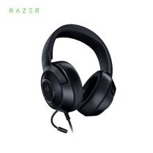 Razer Kraken Essential X игровая гарнитура, наушники 7,1, объемный звук, ультра светильник, гибкий, кардиоидный микрофон