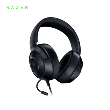 Razer kraken essential x 게임용 헤드셋 이어폰 헤드폰 7.1 서라운드 사운드 초경량 굴절 식 카디오이드 마이크