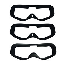 3PCS Upgraded Replacement Faceplate Soft Pad KIT for Fatshark FPV HDO2 Goggles(China)