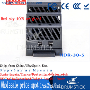 Image 5 - Steady MEAN WELL HDR 30 5 5V 3A meanwell HDR 30 15W Single Output Industrial DIN Rail Power Supply