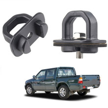 2Pcs Set American Pickup Trunk Lock Buckle Tie Down Fixing Pull Ring Truck Bed Side Wall Hook Car Accessories Auto Spare Parts cheap KOU JIANG CN (Herkunft) Tie Down Hook app 5cm 1 97in