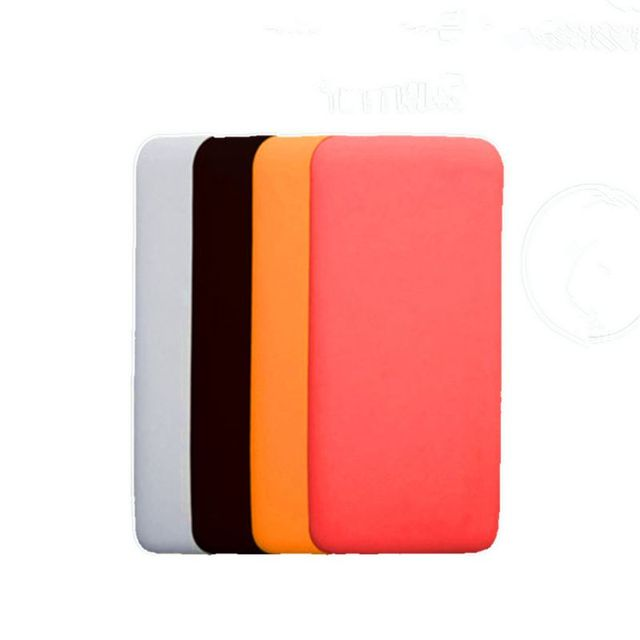Silicone Protector Case Cover Skin Sleeve Bag for New Xiao Mi 2 10000/20000mAh Dual USB Power Bank Powerbank Accessory 1