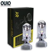 Автомобильная фара h4 светодиодный ная лампа с мини объективом
