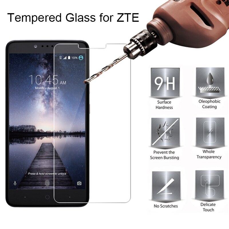 Tempered Glass for ZTE Nubia Z17 Lite Z17S Screen Protector on Nubia Z11 Max Z18 Mini Protective Glass for ZTE Nubia Z11 Mini S(China)