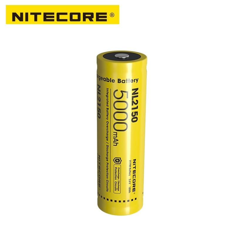 NITECORE NL2150 NL2145 NL2140 3.6V 21700 Rechargeable Li-ion Battery