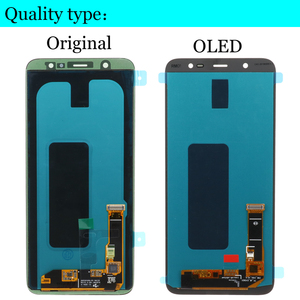 Image 3 - SUPER AMOLED LCD For Samsung Galaxy A6 2018 Display A600F Touch Screen Digitizer Panel Assembly A6 Plus A6050 LCD A6050F Display