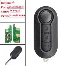 3 кнопочный дистанционный ключ 433 МГц id46 для marelli b s