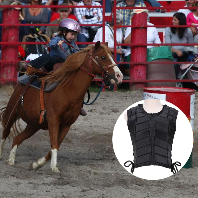 Adult Safety Body Protective Riding Armor Equestrian Sports EVA Padded For Male/Female,  5