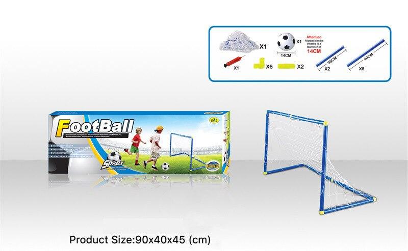 Offres spéciales sport Football jouet petit intérieur et extérieur Football porte enfants sport décontracté Portable Football - 3