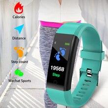B05 montre intelligente avec moniteur de fréquence cardiaque podomètre Bracelet IP67 étanche Fitness Sport Smartwatch connecter IOS Android 1yw