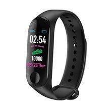 M3 Bluetooth Smart Watch Band Heart Rate Blood Pressure Monitor Fitness Tracker Smart Bracelet Band Sport Wristband 2019 New