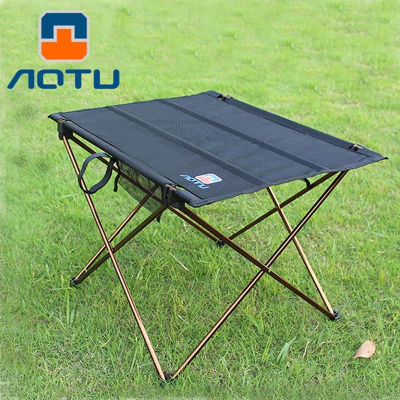 Bump Aluminum Alloy Folding Table Outdoor Picnic Barbecue Table Portable Teapoy Table Cross Border Wholesale AT6728