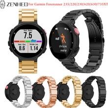 лучшая цена For Garmin Forerunner 235 frontier/classic replacement bracelet For Garmin Forerunner 220/230/620/630/735XT Smart Watch band