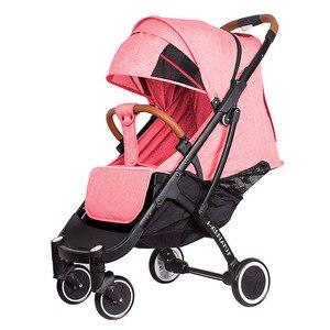 Image 2 - 2019 yoya poussette plus 4 peut sasseoir et se coucher 175 degrés pliant parapluie chariot ultra léger bébé chariot portable sur lavion