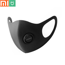 Xiaomi mijia Antibacterial  mask SmartMi life , pure smoke and spray mask, adjustable earrings 3D designer light breathing mask