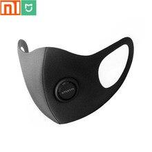 Xiaomi mijia máscara antibacteriana SmartMi life, humo puro y máscara para aerosol, pendientes ajustables 3D diseñador máscara de respiración ligera