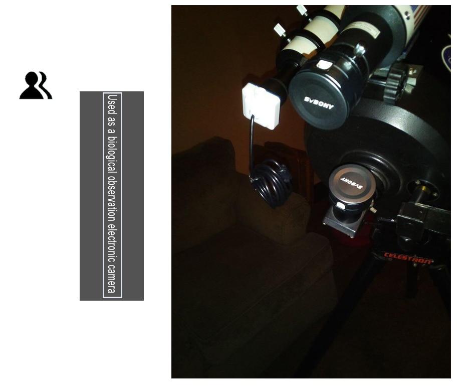 Svbony 1.25 inch inch sv205 8mp usb3.0