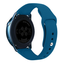 20mm 22mm Silicone Strap for Samsung Galaxy Watch Active 2 4