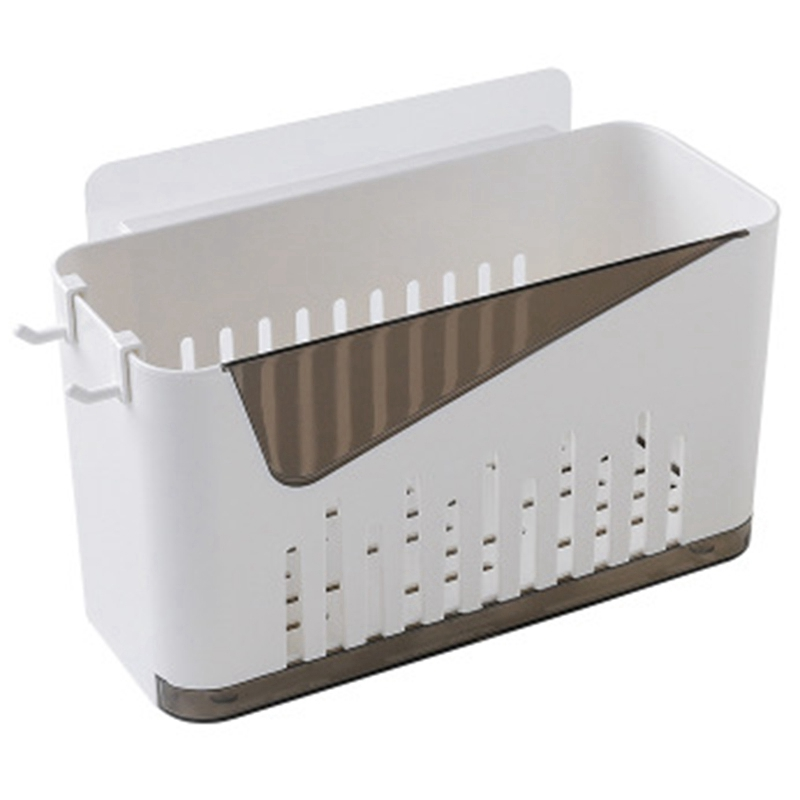 NEW Punch-Free Bathroom Shelf Plastic Toilet Bathroom Vanity Wall Hanging Bathroom Storage Rack Basket No Trace Stickers