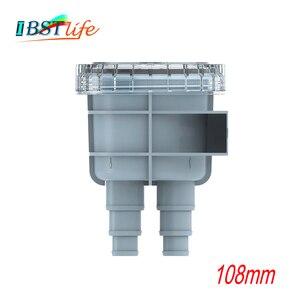 108 мм фильтр для забора морской воды, фильтр для рафтинга, аксессуары для лодок, подходит для шланга размером 1/2