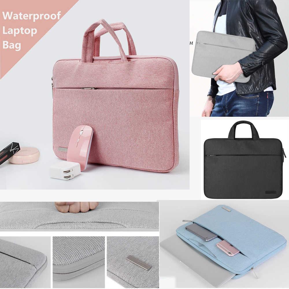 Fashion Pria Wanita Laptop Bag Case PENUTUP UNTUK ASUS Dell HP Acer Macbook Air Pro Surface Pro Notebook Sleeve 11 13 13.3 14 15.6